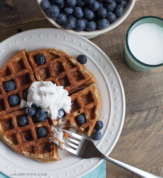 Best recipe for gluten free waffles