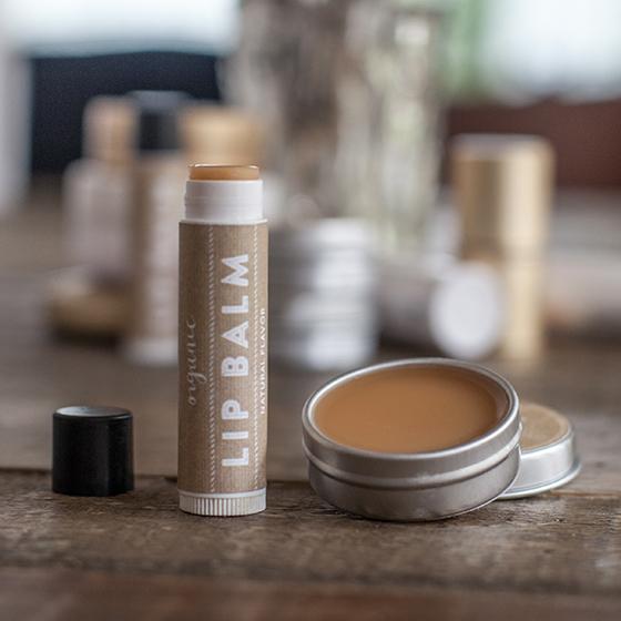 Handmade Organic Lip Balm