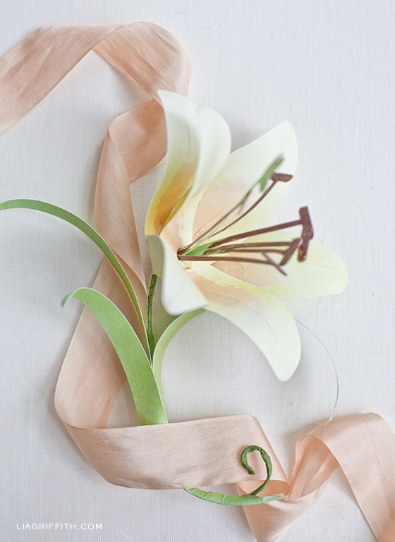 Paper Easter Lily