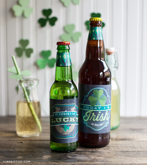 St Patricks Day Labels