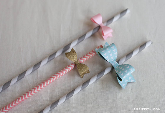 tiny diy paper bow printables for decorations