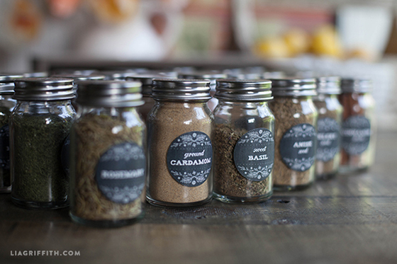 printable herb and spice jar labels