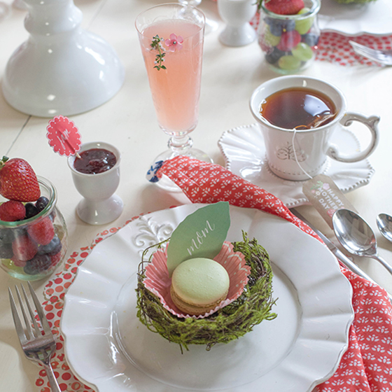 Mother's Day Brunch Inspiration by DIY designer Lia Griffith
