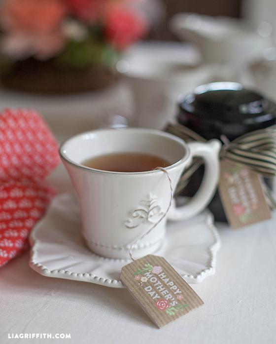 Mother's Day Tea Tags