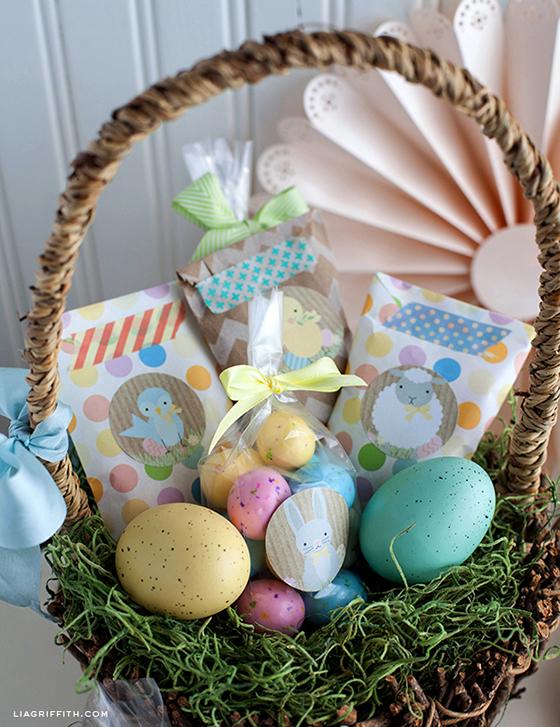 étiquettes imprimables de Pâques