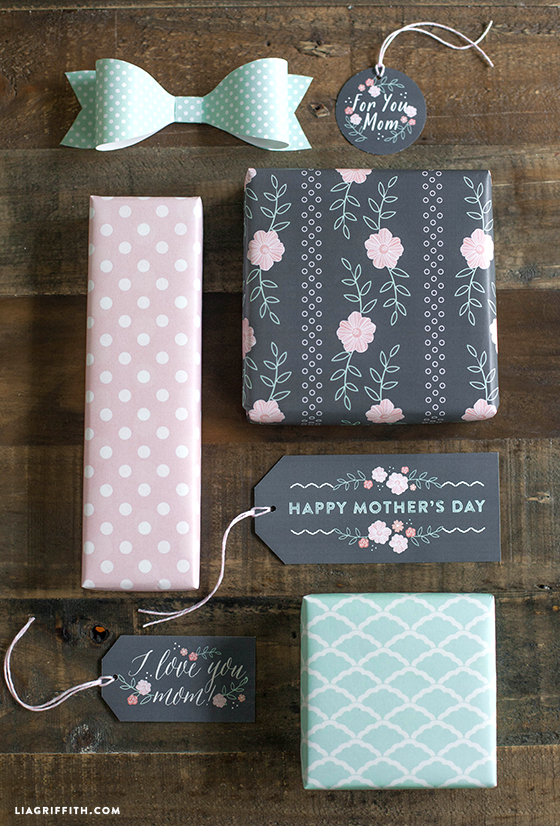 Blush and Mint Gift Tag Printables