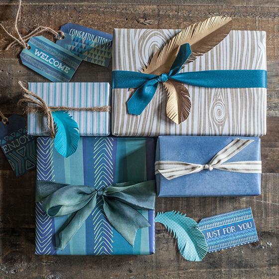 Printable Gift Wrap For Men