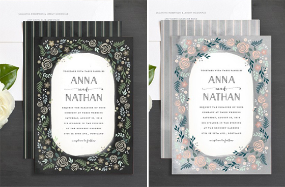 Wedding Invitations by Lia Griffith