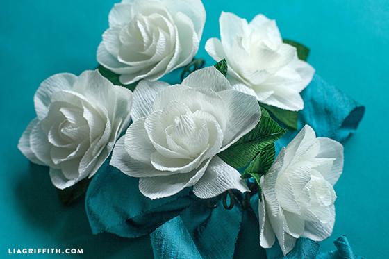 Gardenia_DIY_Crepe_Paper