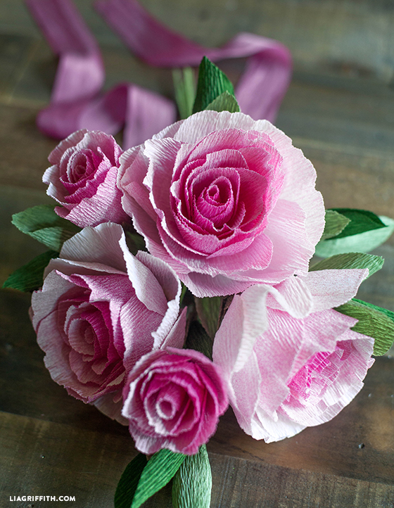 Ombre_Crepe_Paper_Roses