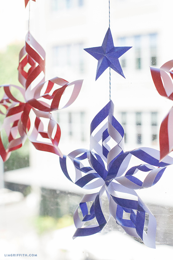 Paper Stars For Fourth Of July | Patriotic 4th Of July Party Ideas You Can DIY On A Budget