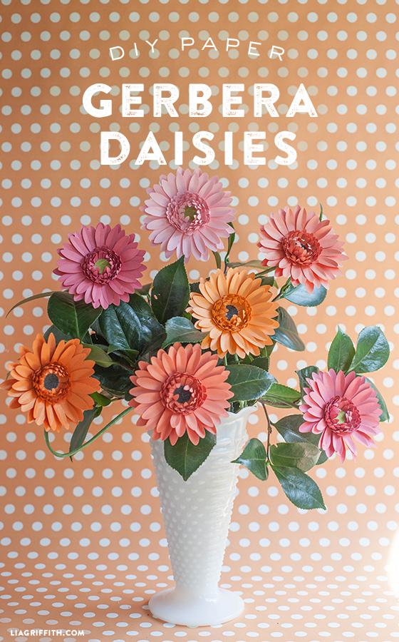DIY_Gerbera_Daisies_Paper