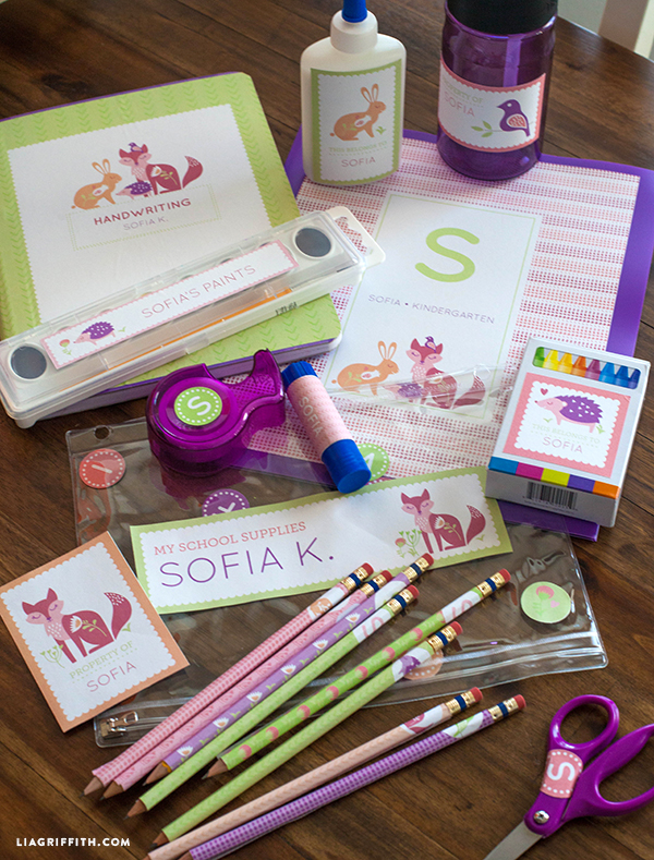 10 Diy Ideas For Back To School Lia Griffith