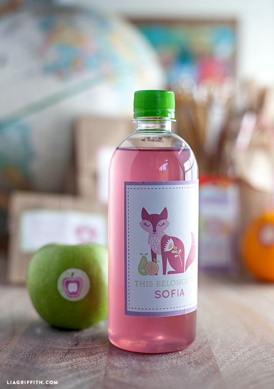 Pink_Fox_Lunch_Label