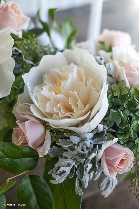 wedding_centerpiece_diy_crepe_peony