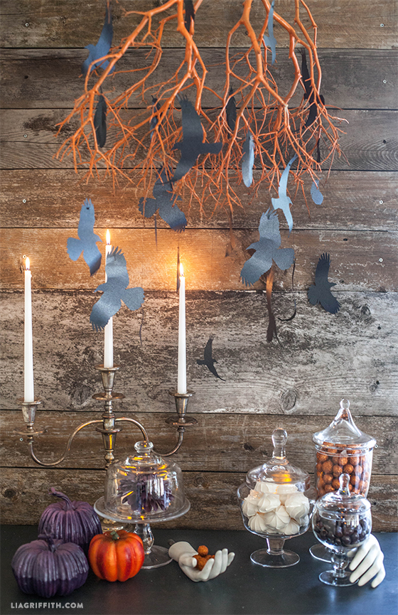 paper_crow_chandelier_diy