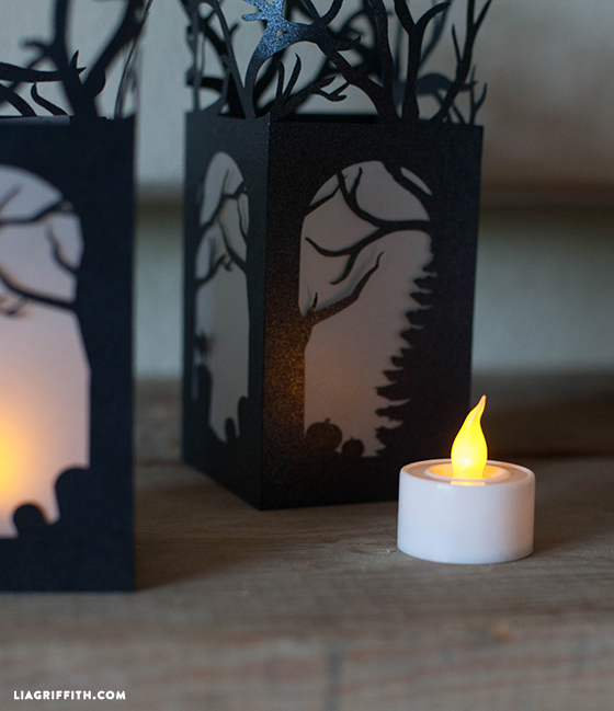 paper lantern halloween decorations - How To Make Halloween Lanterns