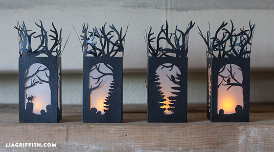 Decorating Ideas > DIY Paper Lanterns For Halloween Decorations  Lia Griffith ~ 214210_Halloween Decoration Ideas Templates