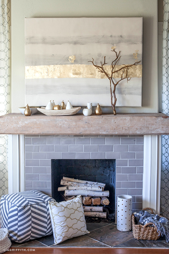 How To Style A Mantel For Autumn