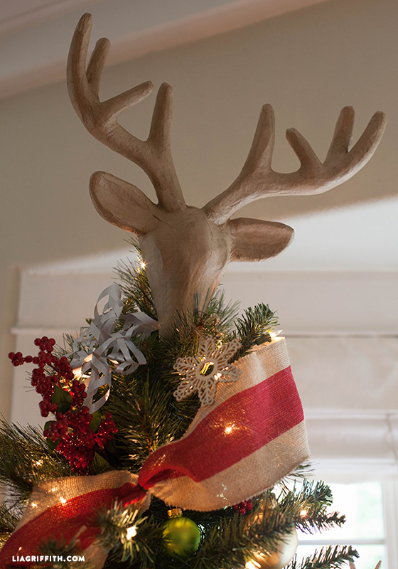 dream tree challenge creative deer_tree_topper christmas_ornaments deer_christmas_tree reindeer_christmas_tree enzo_christmas_tree - Michaels Christmas Decorations 2017