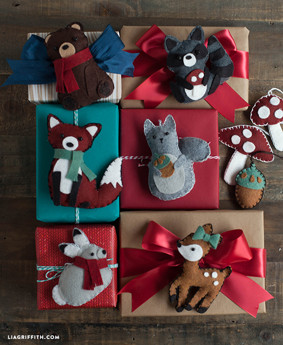 Felt Deer Ornament Tutorial Christmas Felties