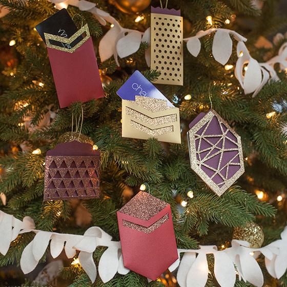 Make A Pretty Gift Card Holder Ornament Lia Griffith