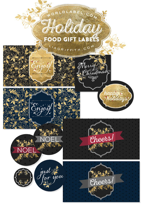 World_Label_Christmas_Food_Labels