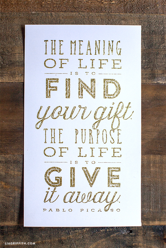 Gold_Foil_Printable_Quote