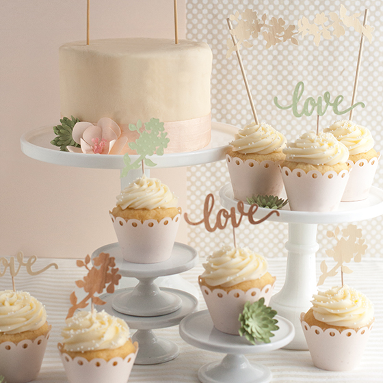 wedding cake with mini cupcakes diy wedding cake and cupcake topper lia griffith 26926