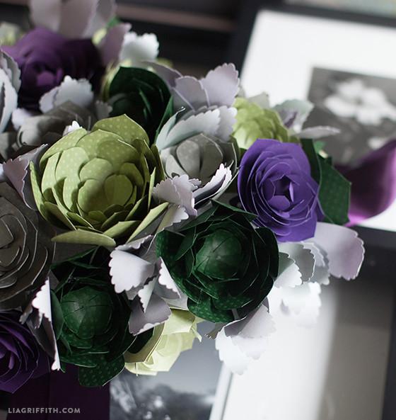 DIY_Paper_Succulents