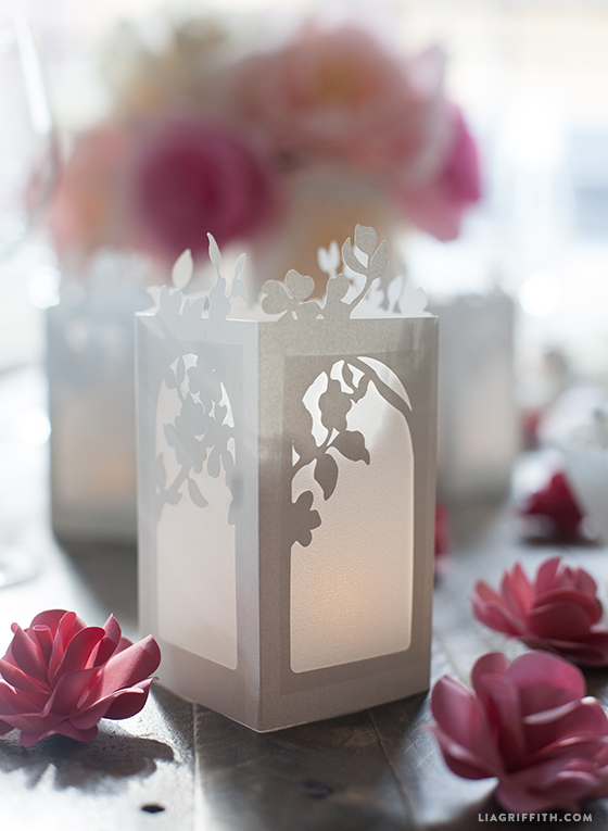 Spring in Bloom Paper Lanterns - Lia Griffith