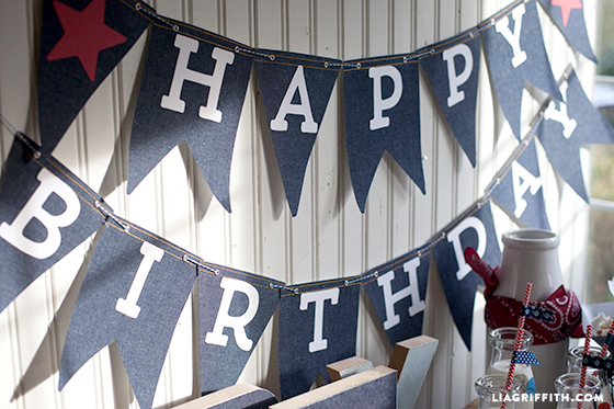 DIY Kids Cowboy Birthday Party Lia Griffith