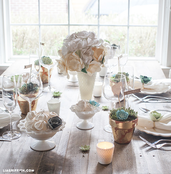 Paper_Succulent_Wedding_Decor