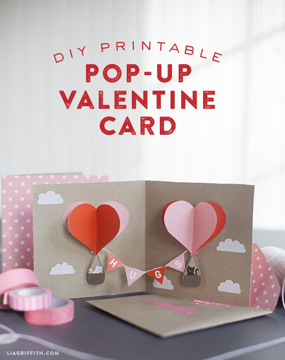Make Your Own DIY PopUp Valentine Card Today