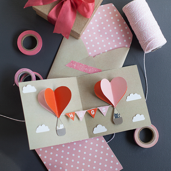 DIY Valentine PopUp Card Lia Griffith – Create Valentine Cards