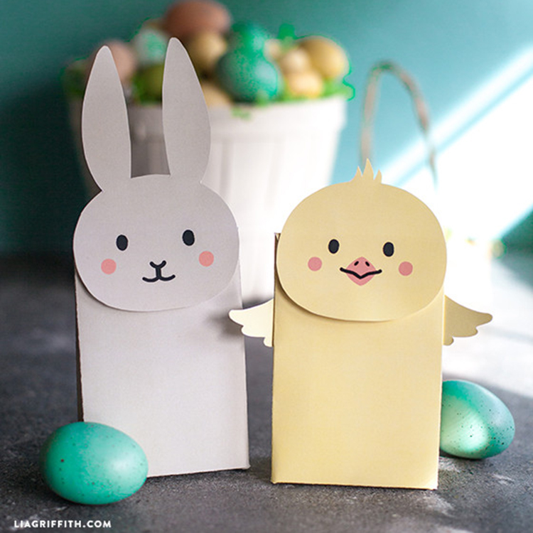 Make your own easter goodie bags lia griffith negle Image collections