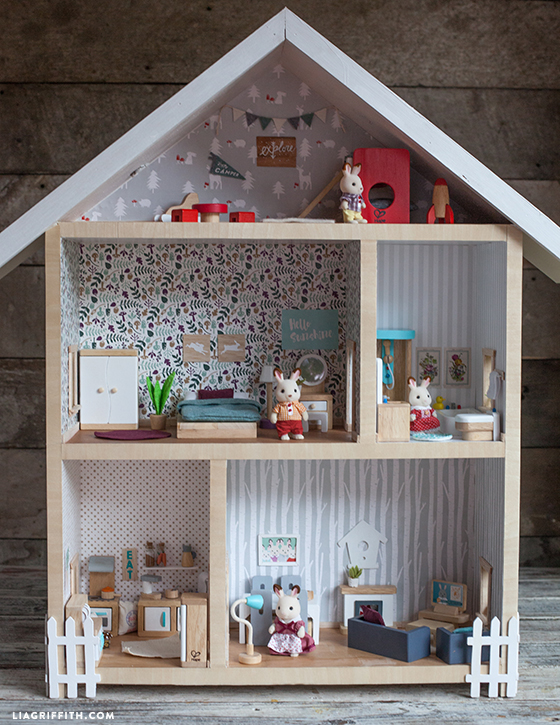 Give a home make your own dollhouse lia griffith for How to start building a house