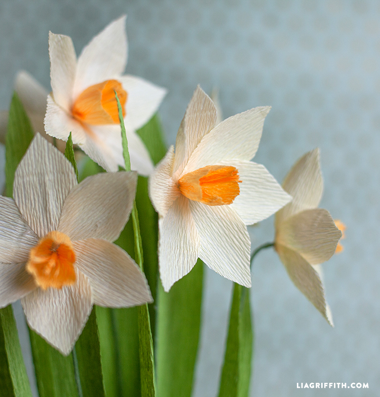My top 10 paper spring flowers lia griffith spring flowers daffodil paper flower mightylinksfo