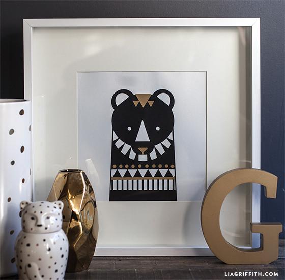 DIY_Bear_Wall_Art