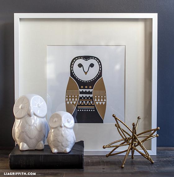 DIY_Owl_Wall_Art