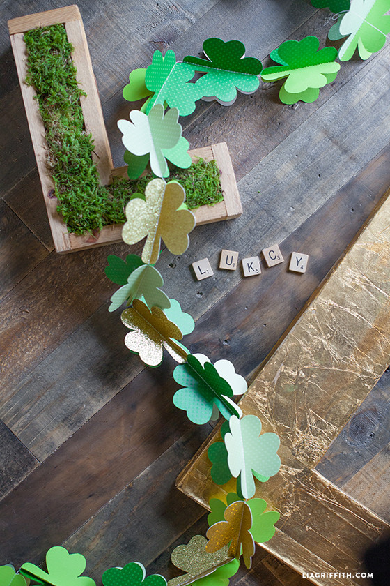 DIY_Shamrock_Garland