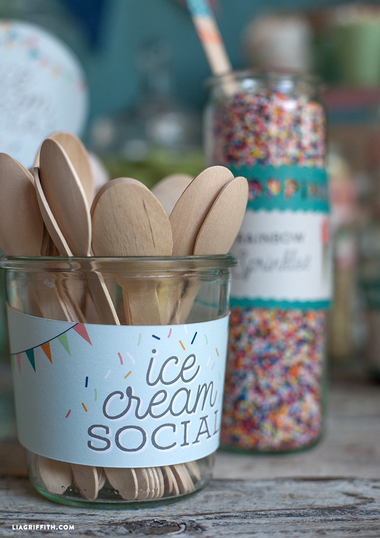 Host an Ice Cream Social - Lia Griffith