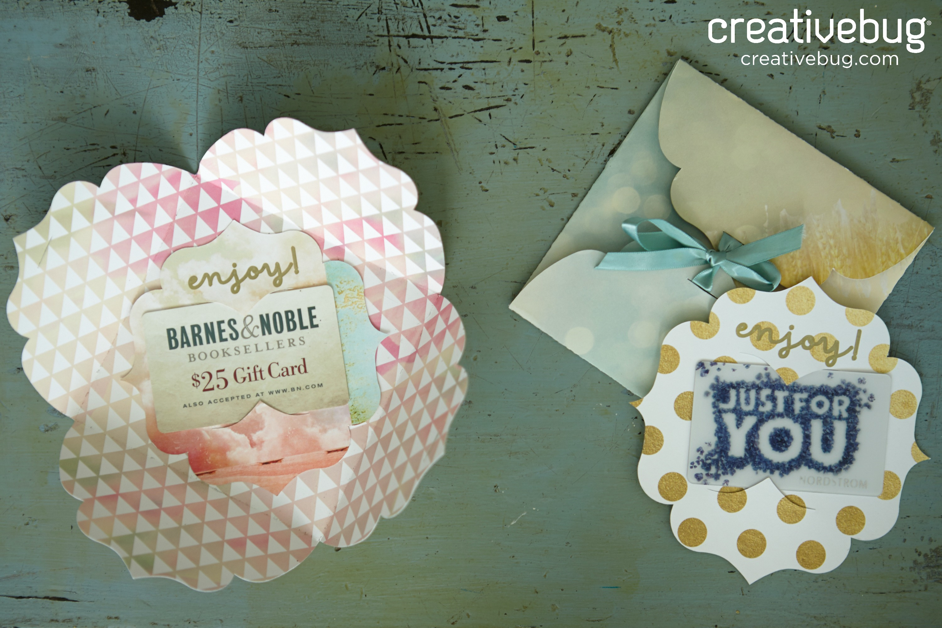 DIY Gift Card Holder and EnvelopeCreativebug Video Tutorial