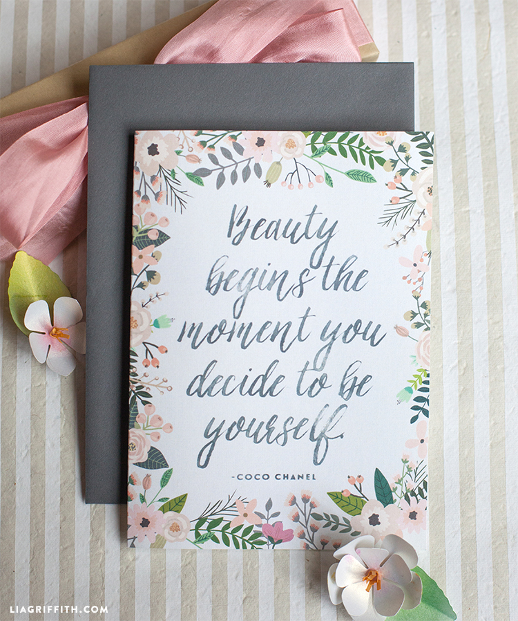 Inspirational Quote Cards For Any Occasion