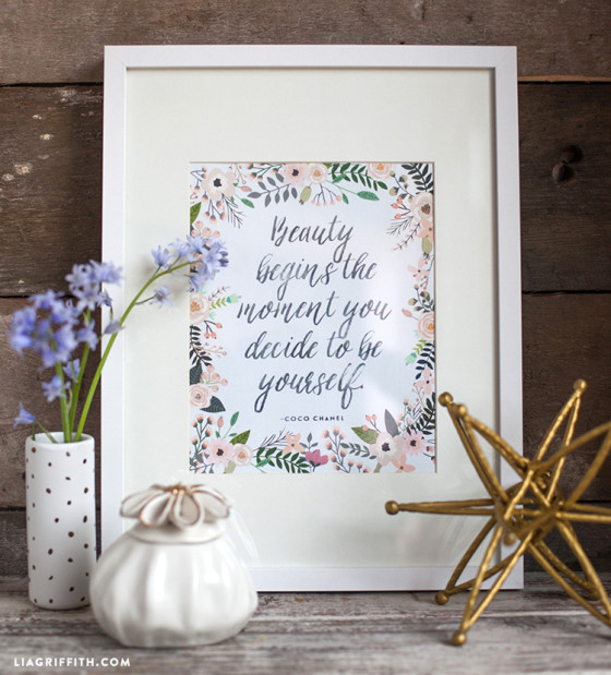 Beauty_Quote_Printable
