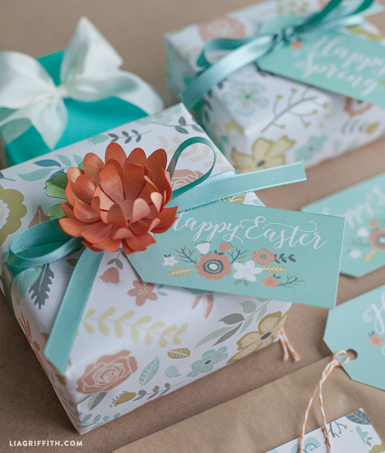 Printable gift wrap and tags for spring easter lia griffith and if you are planning a handmade easter please do share pictures of your diy projects with us across instagram facebook or twitter using the liagriffith negle