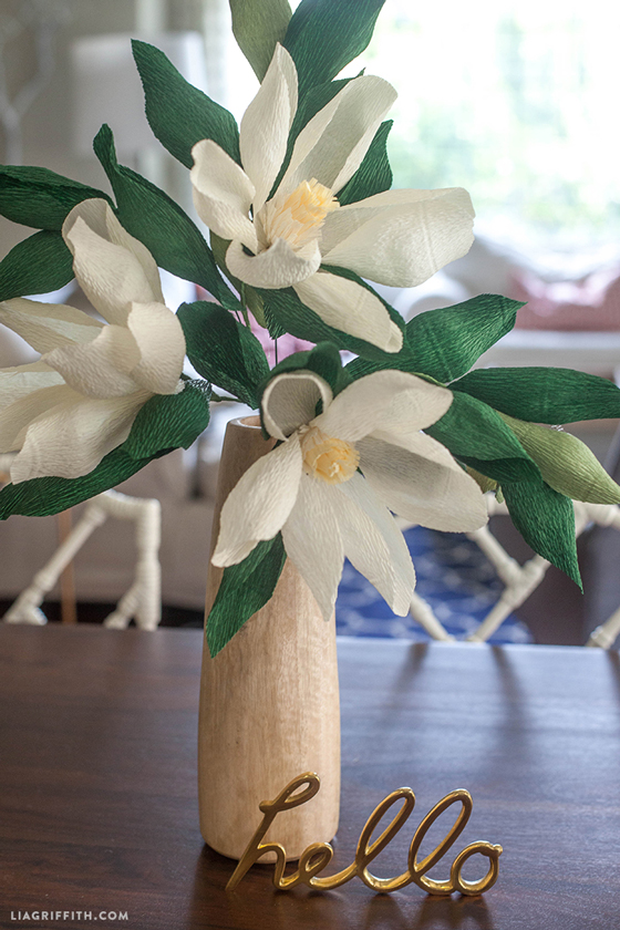 Diy paper magnolia flower lia griffith diy paper magnolia flower mightylinksfo
