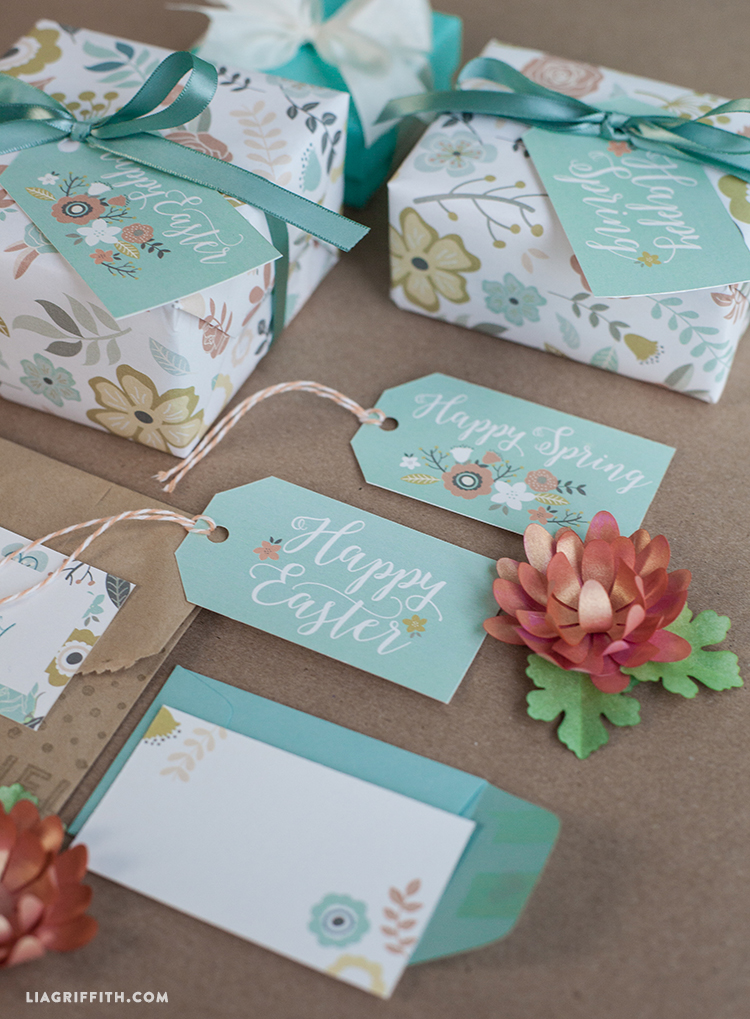 Printable gift wrap and tags for spring easter lia griffith and if you are planning a handmade easter please do share pictures of your diy projects with us across instagram facebook or twitter using the liagriffith negle Images