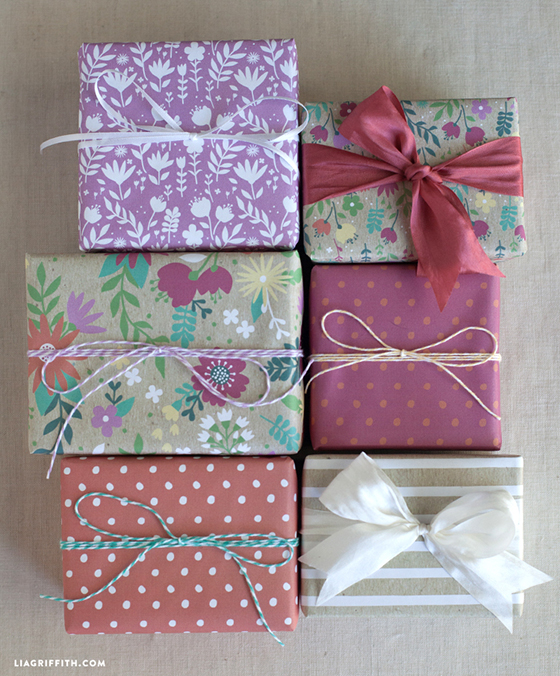 Printable_Spring_Summer_Gift_Wrap