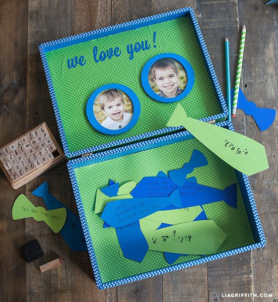 Lisa S Tool Time Father S Day Card: DIY Father's Day Treasure Box
